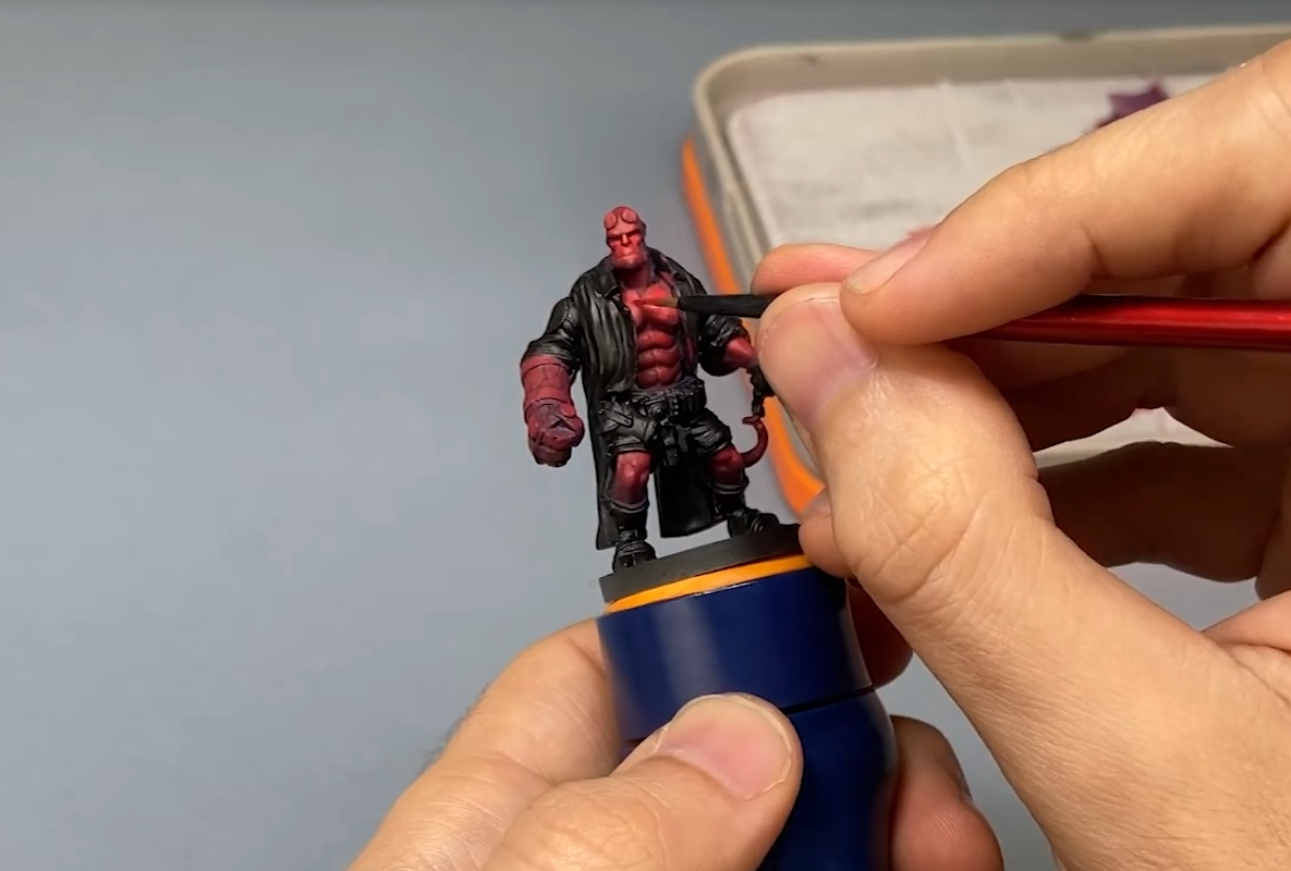 Hobby Painting Handle For Miniatures & Models
