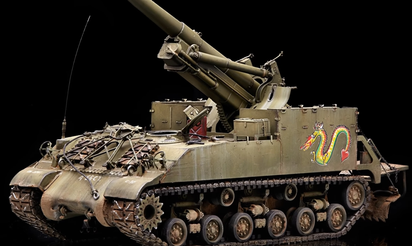 How to Paint Model Tanks