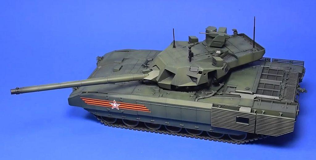 Revell 03274 3274 Russian Main Battle Tank T-14 AR, Multi-Color