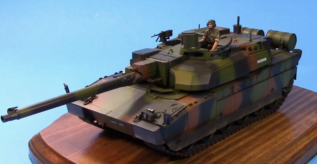 TAMIYA 35362 1/35 French Main Battle Tank Plastic Model Kit