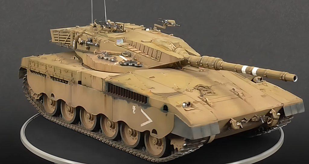 Tamiya 35127 1/35 Israeli Merkava MBT Tank Plastic Model Kit
