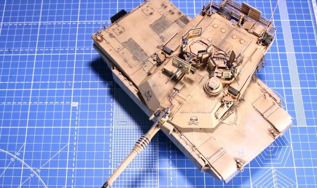 Tamiya Models M1A2 SEP Abrams Tusk II Model Kit