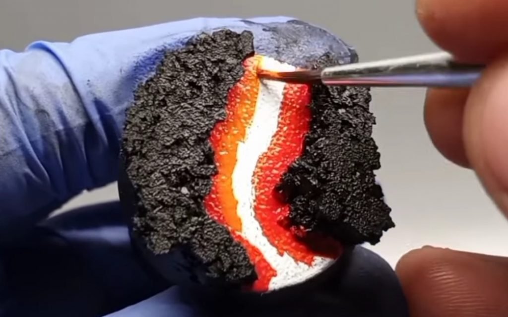 Add Lava Flows in Lighter Colors