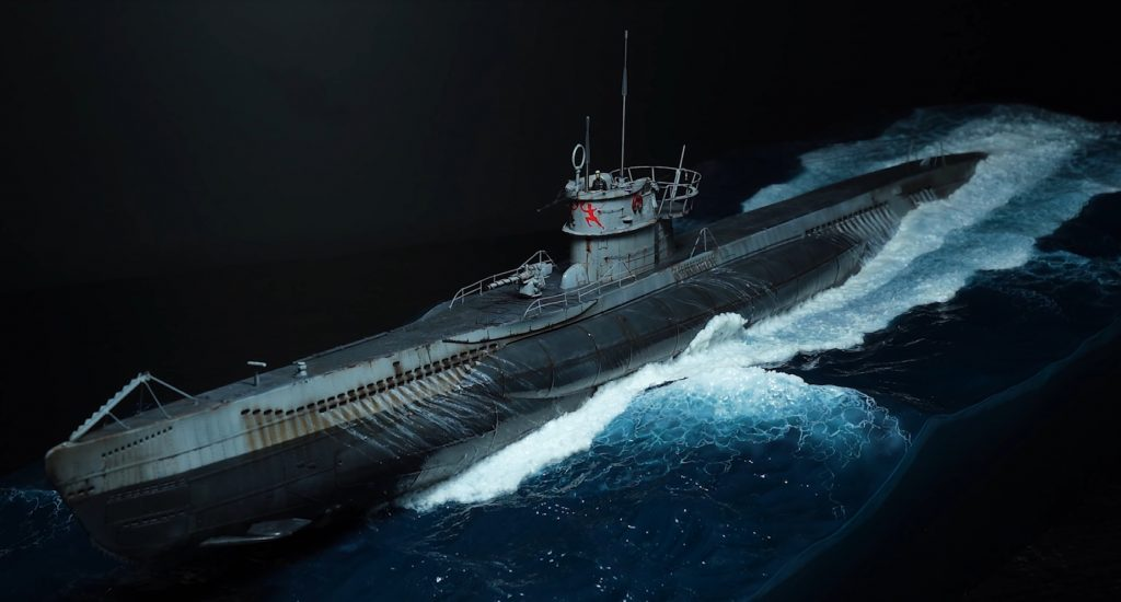Немецкая военно-морская подводная лодка типа VIIC / 41