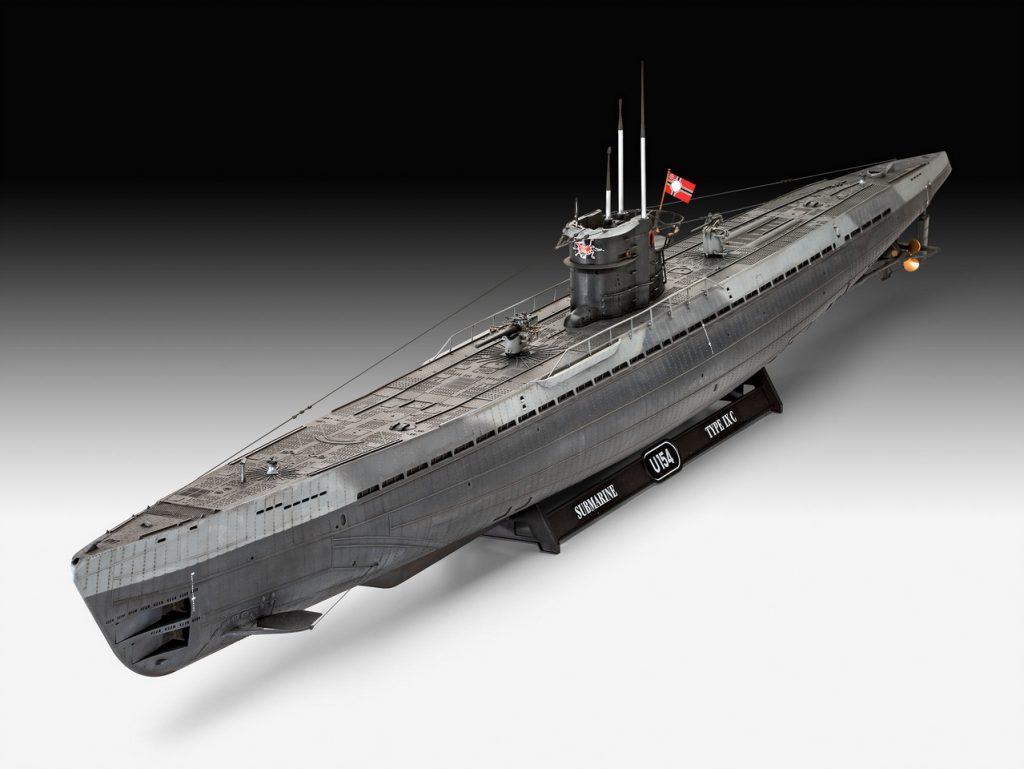 Немецкая подводная лодка Type IX C (U67 / U154)