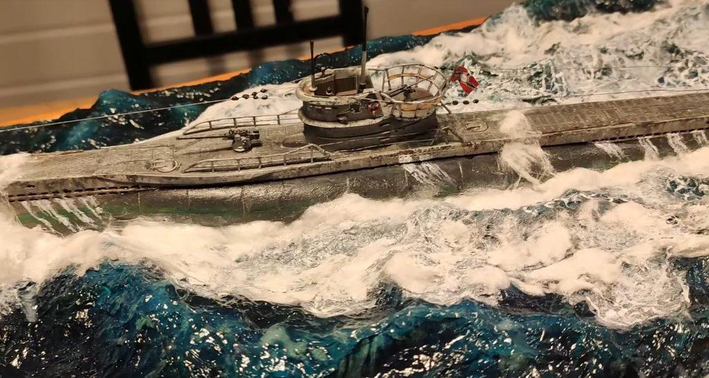 Немецкая подводная лодка типа VIIC