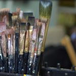 How to Clean Paint Brushes Between Colors