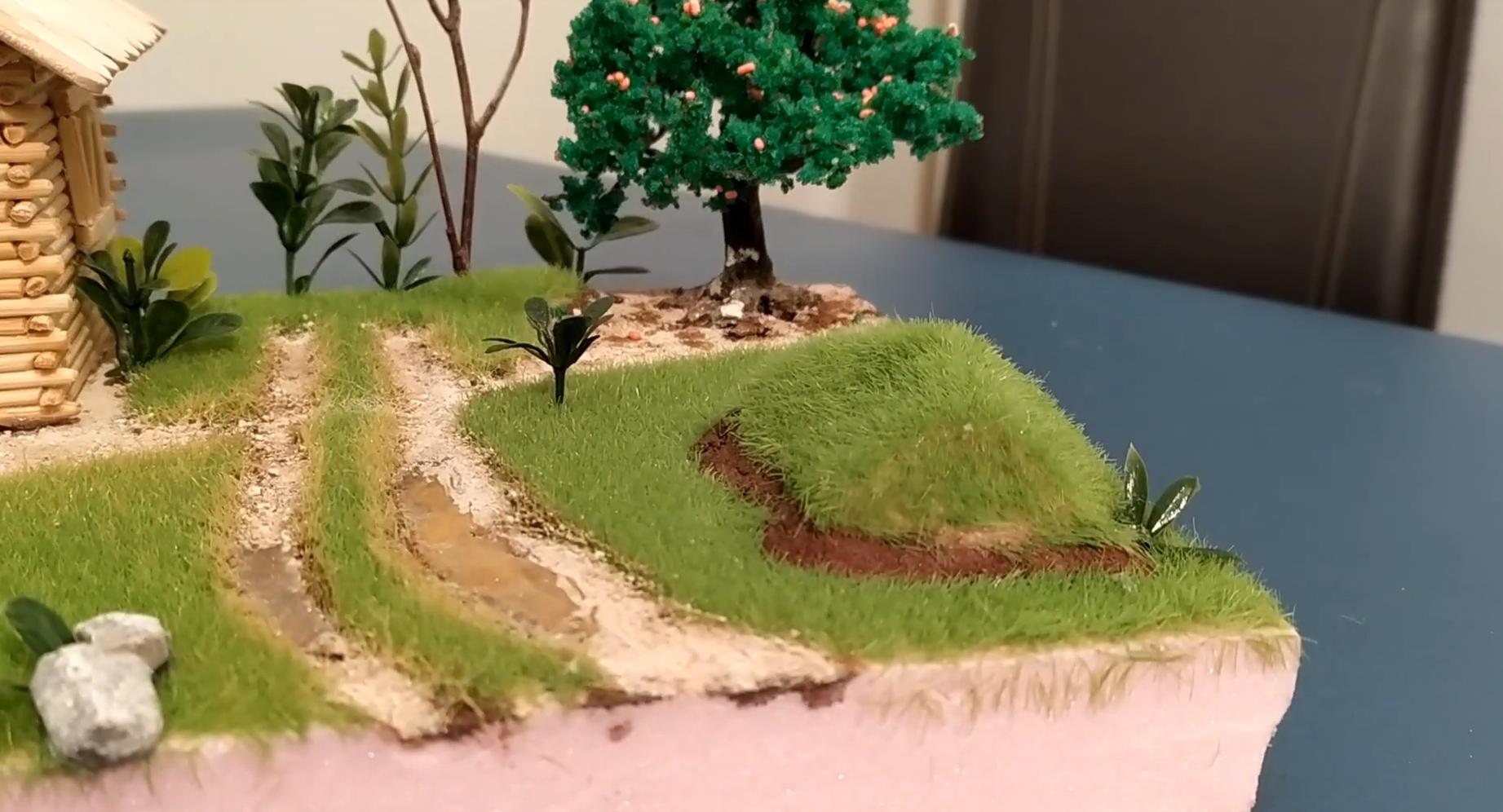 How to Make Grass For a Diorama