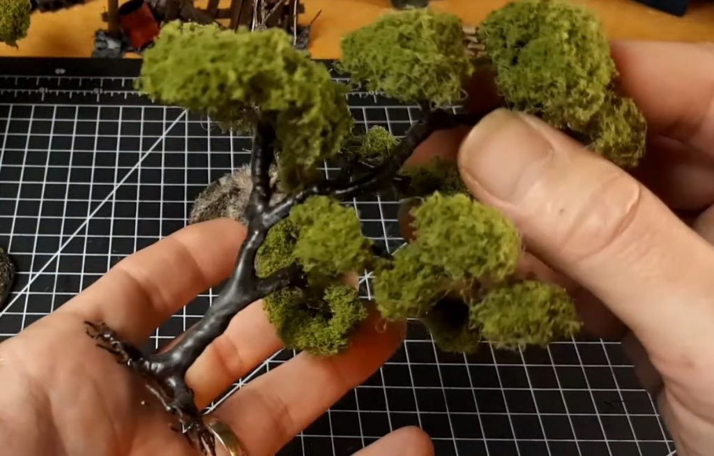 Step 6: Coat the Tree with Flocking