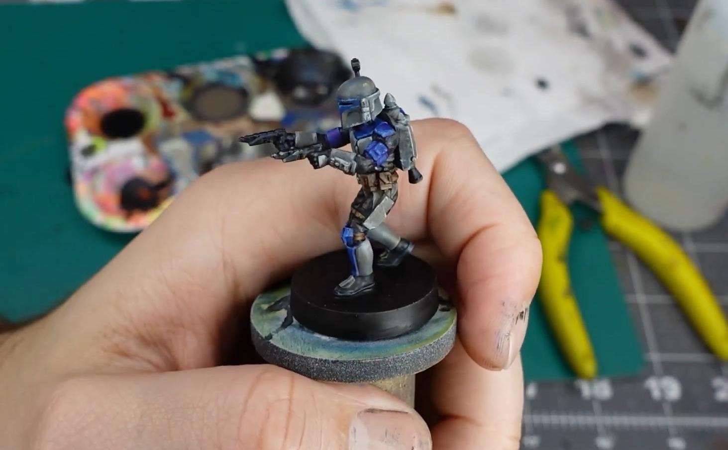 How to Paint a Mandalorian Miniature