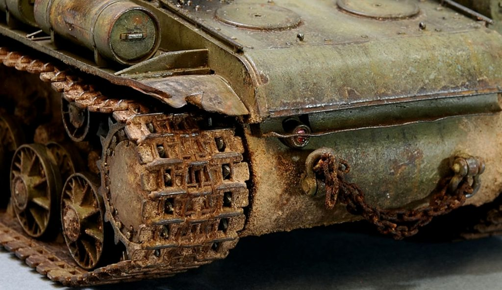 Tips for How to Paint and Weather Tank Tracks